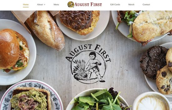 August First Bakery & Cafe Downtown Burlington Vermont