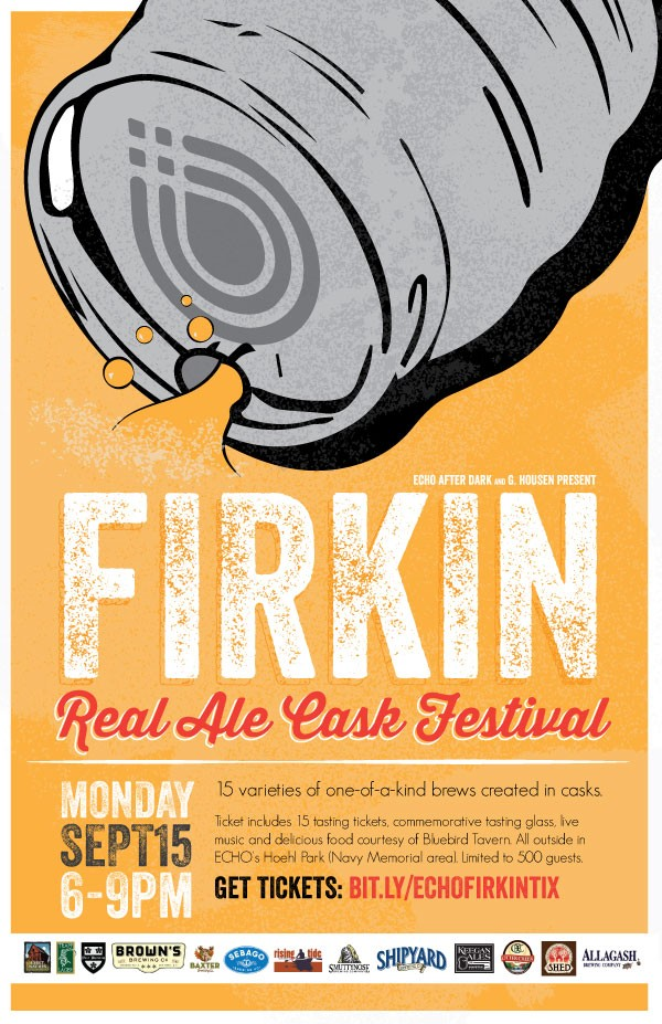 Bluebird ECHO Firkin Monday Poster