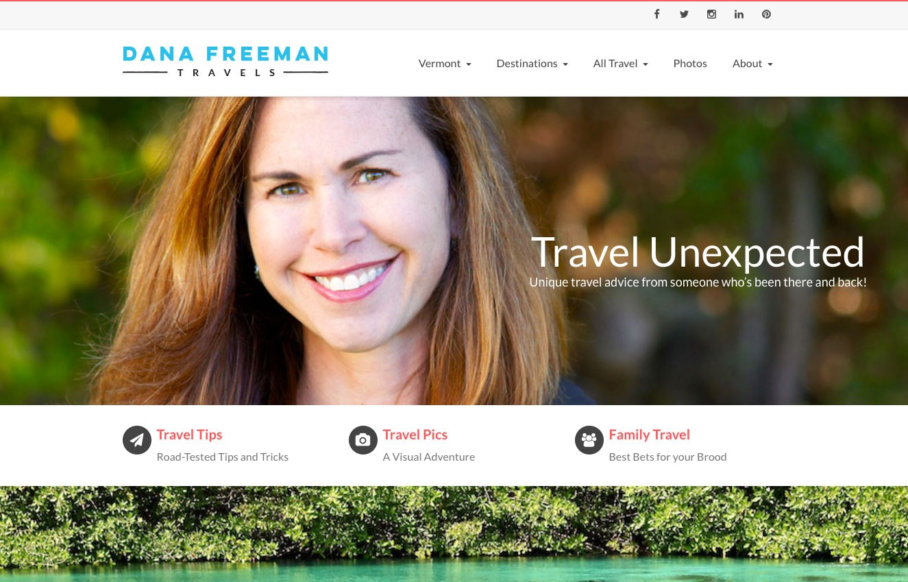 Dana Freeman Travels Blog