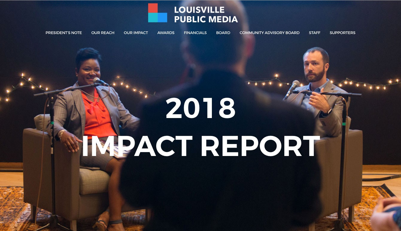 Louisville Public Media 2018 Annual Report