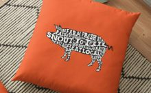 Next Chapter Farm Typographic Whole Hog