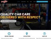 Girlington Garage Wordpress Website