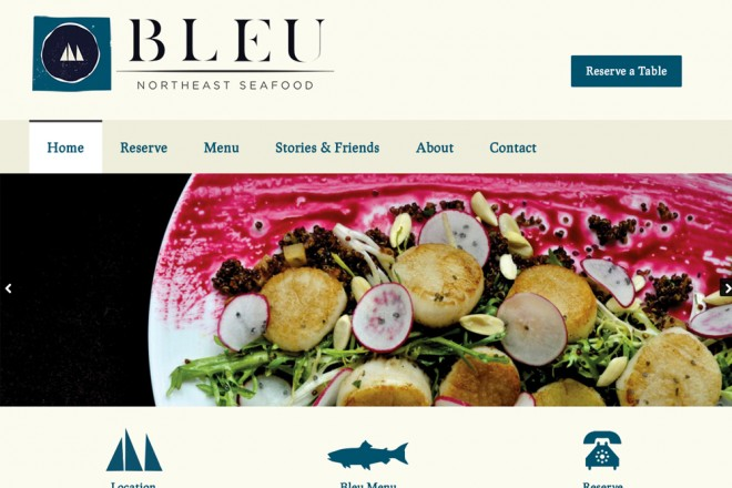 Bleu Northeast Seafood Burlington