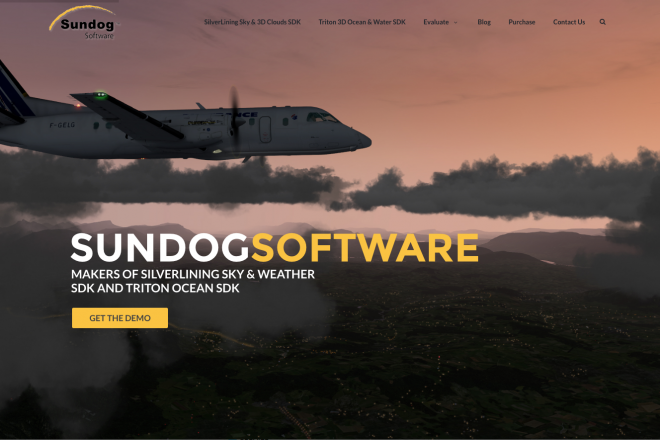 Sundog simulation Software